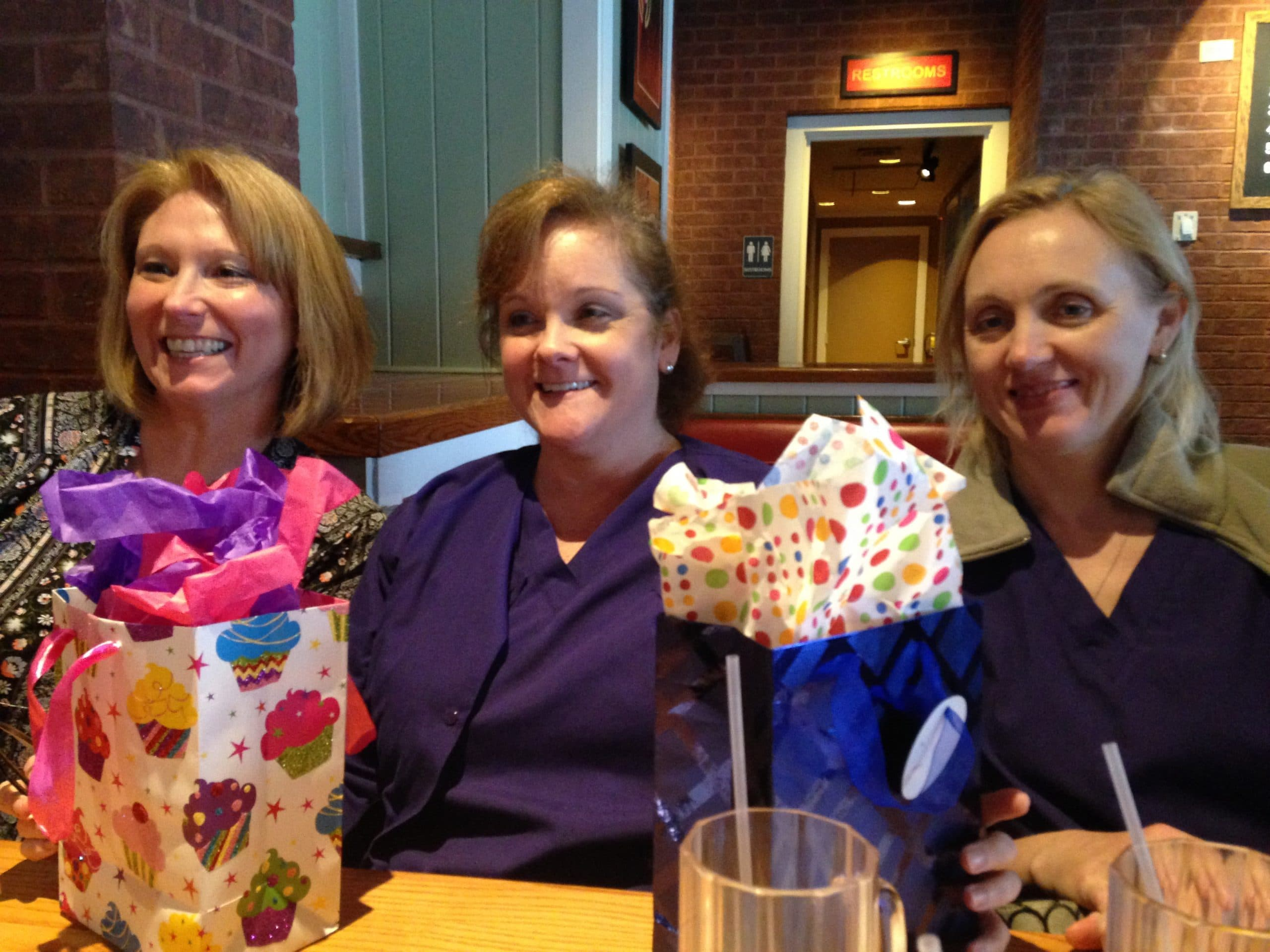 We Had A Wonderful Time Celebrating Staceys Birthday Today At The Chilis Near Home Depot On Marietta Highway